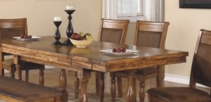 Amazing Grand Estate Be The Envy Of Your Dining Guests! Acacia Veneer And Solid  Hardwood Are Machined And Assembled To Perfection, Giving This Rustic  Collection ...